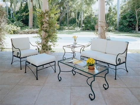 used wrought iron patio furniture furniture cheap garden chair cushions wrought iron patio