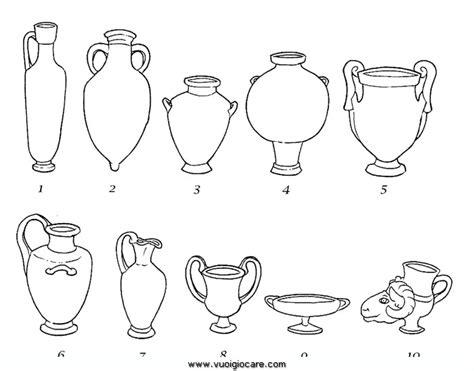 vasi greci da colorare grecivasi disegni da colorare