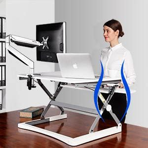Computer Desk 35 Inches Wide by Flexispot Standing Desk 35 Quot Wide Platform