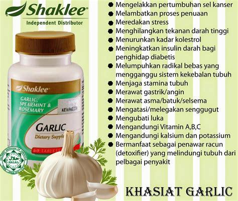 Garlic Ori Minyak Bawang Putih Untuk Tekanan Darah Hypertensi pengedar shaklee shaklee garlic complex