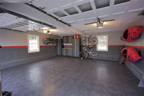 cool garage floors awesome garages workshops awesome garage renovation