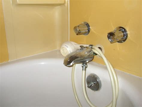 bathtub faucet with shower attachment shower head attachment for bath faucet