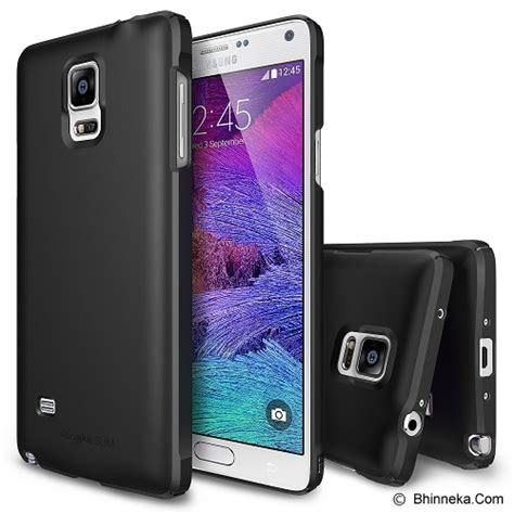 Casing Hp Samsung Note 4 jual rearth samsung galaxy note 4 ringke slim black
