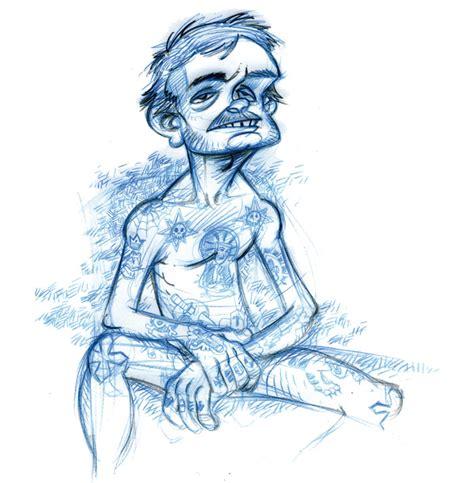 Cartoon Tattoo Julien | cartoon tattoo julien mariolle
