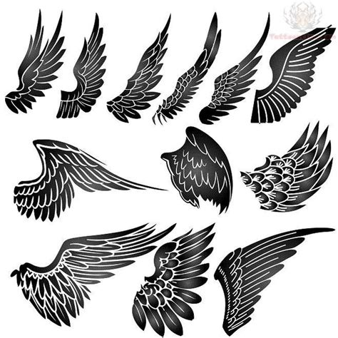 eagle wings tattoo 20 best eagle wings tattoos design with meanings