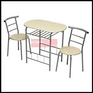 2 Seater Dining Table And Chairs New 3pc Dining Set 2 Chairs And Table Metal Frame Wooden Seat Beech Furniture Co Uk