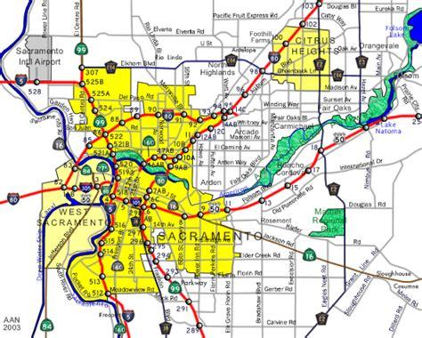 map of sacramento ca sacramento california map