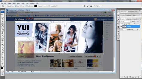 youtube membuat facebook belajar photoshop membuat facebook timeline cover youtube