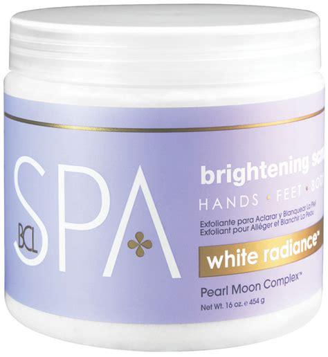 Vienna Whitening Scrub With Pearl And Milk bcl spa white radiance brightening scrub 16 oz ca dannyco