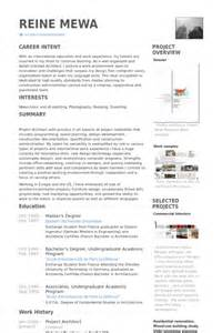 project architect resume sles visualcv resume sles database senior architect resume sles visualcv resume sles database