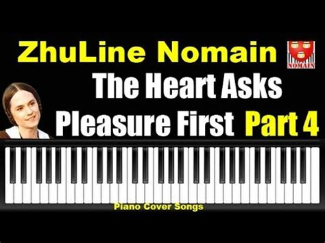 tutorial piano the heart asks pleasure first comment jouer the heart asks pleasure first part4 piano