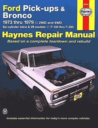 service manual books about how cars work 1979 chevrolet 1973 ford f100 repair manual