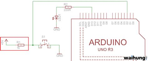 arduino tip built in pull up resistors