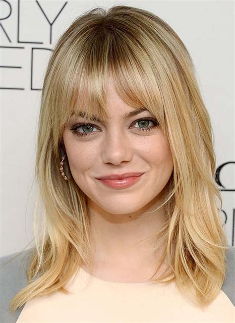 top  beautiful hairstyles  blonde hair  bangs