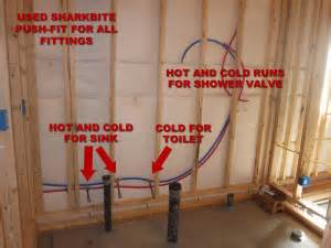 Kitchen Faucet Outlet How To Finish A Basement Bathroom Pex Plumbing