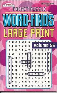 large print crosswords puzzle book volume 92 books kappa pocket puzzle large print wordsearch word finds