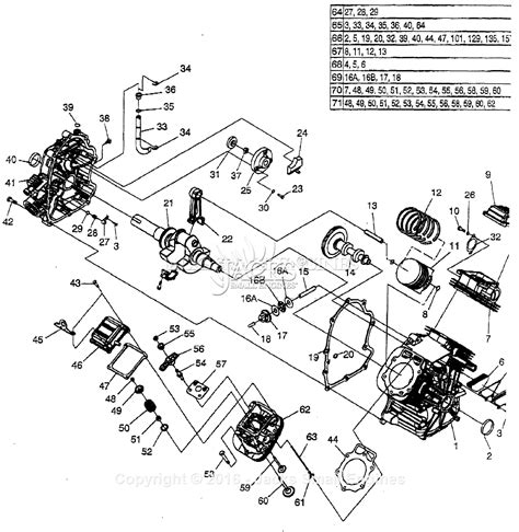 generac parts diagram generac gtv 990 parts diagram for engine ii