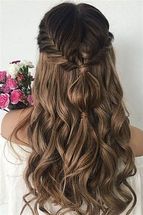 easy wedding hairstyles ideas  pinterest easy updo bridesmaid hair