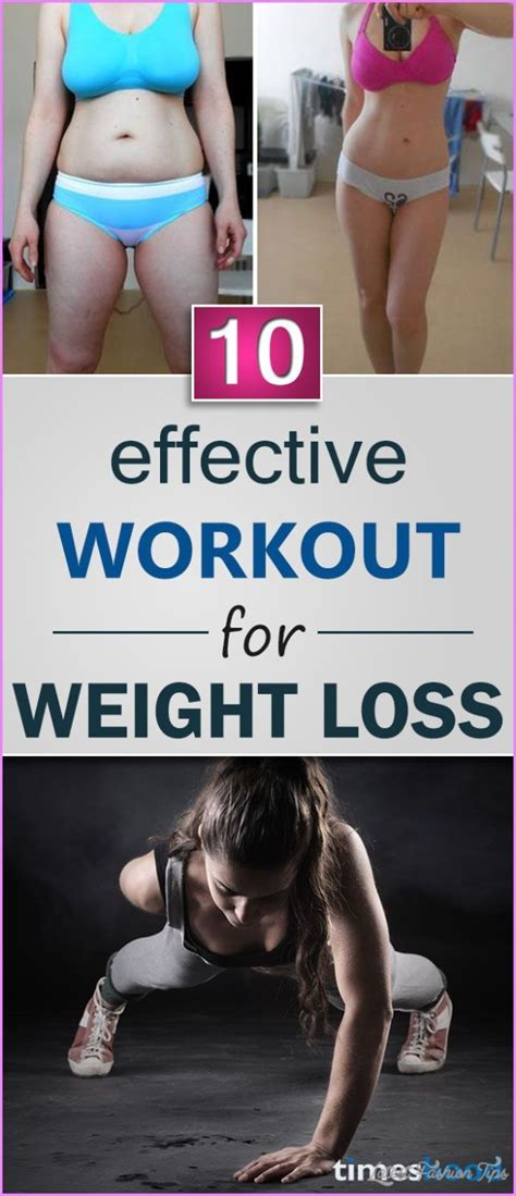 10 Tips For An Effective Work Out by 10 Effective Exercise For Weight Loss Latestfashiontips