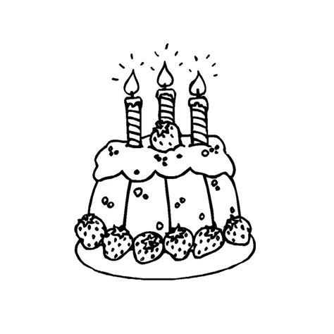 coloriage g 226 teau anniversaire 3 ans a imprimer gratuit
