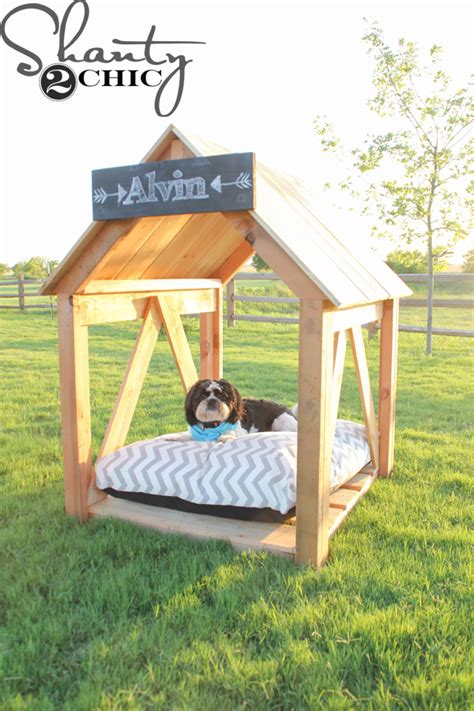 Diy Dog House Shanty 2 Chic