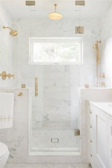 Shower Floor Kits For Tile by A Brass And Lucite Towel Holder Lines A Glass And Marble
