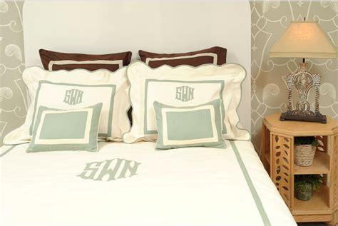 monogram comforters diy no sew fabric applique monogram effortless style blog