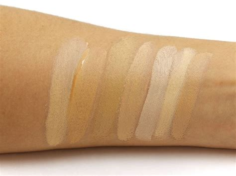 Pressed Mineral Foundation G50 an intro to cover fx for olive skin swatches of