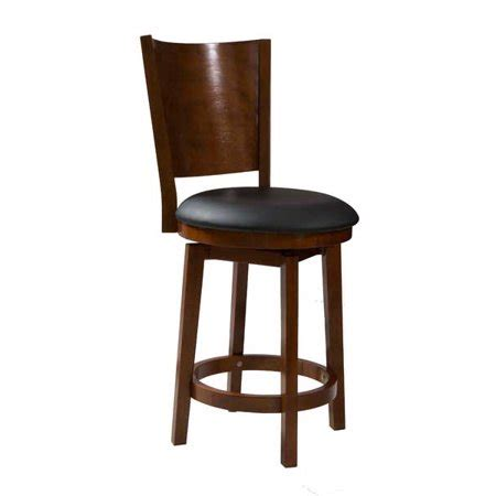Powell Big And Counter Stool by Powell Big Solid Back Wood Counter Stool Wood