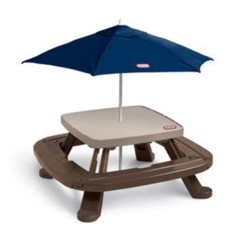 Tikes Fold N Store Picnic Table With Market Umbrella by 17 Best Ideas About Picnic Table With Umbrella On