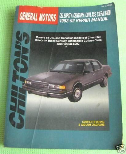 purchase chilton repair manual 82 92 general motors cars used motorcycle in san bernardino