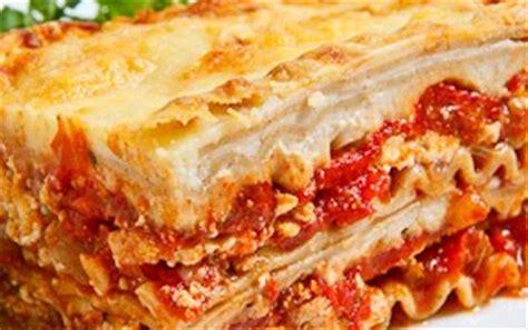 resep cara membuat lasagna khas italia cara membuat resep lasagna atau lasagne resep masakan nusantara