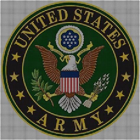 crochet pattern for army afghan us army crochet pattern