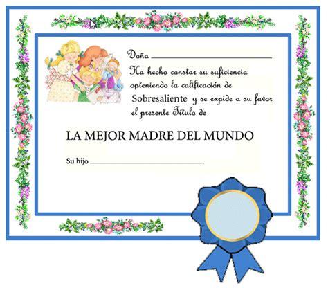 diploma madres diplomas d 237 a de las madres