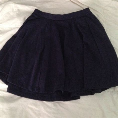 60 cotton on dresses skirts navy blue circle