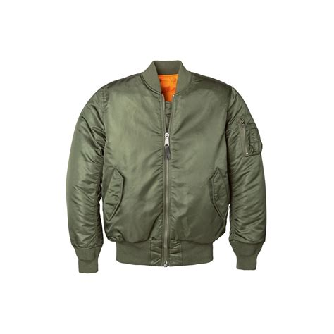 Jacket Bomber Ma 1 jacket inc ma 1 w flight jacket alpha industries