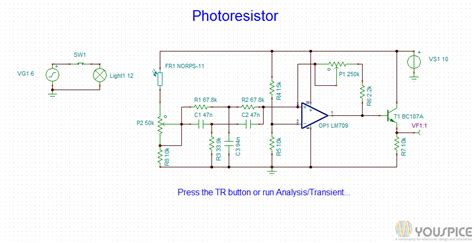 photoresistor transistor switch photoresistor sensor circuit 28 images switch circuit activated by a photoresistor youspice