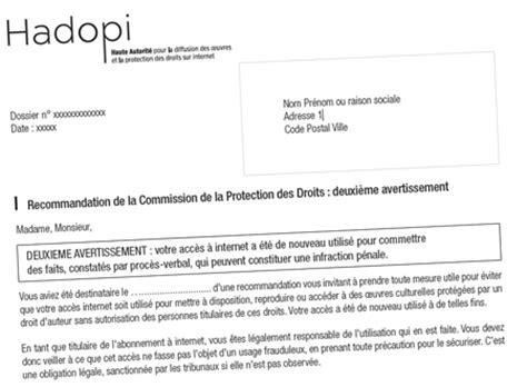 Exemple De Lettre Recommandée Hadopi Un Courrier Recommand 233 Plus Mena 231 Ant Moins P 233 Dagogique Undernews