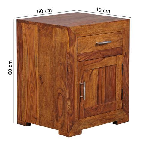 nachtkommode 60 cm hoch finebuy nachttisch massivholz nachtkommode 60 cm hoch 50