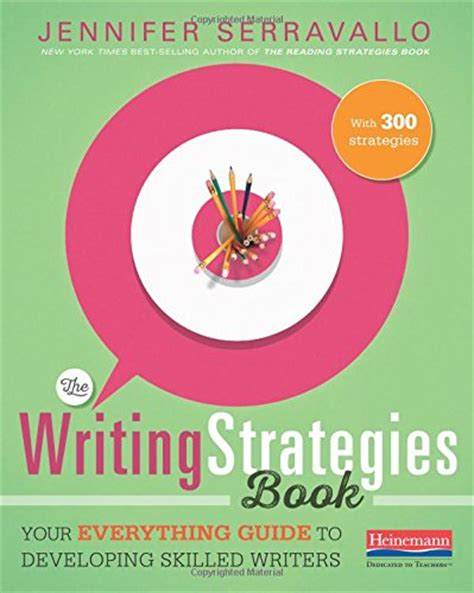 the writing strategies book your everything guide to
