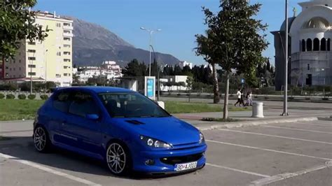 peugeot 206 tuning peugeot 206 hdi tuned by nikola tomovic youtube