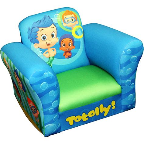 bubble guppies recliner nickelodeon chair bubble guppies standard rocker