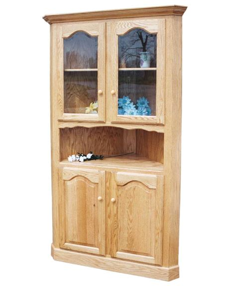 Afco Cabinets by Amish Corner Cabinet Bar Cabinet