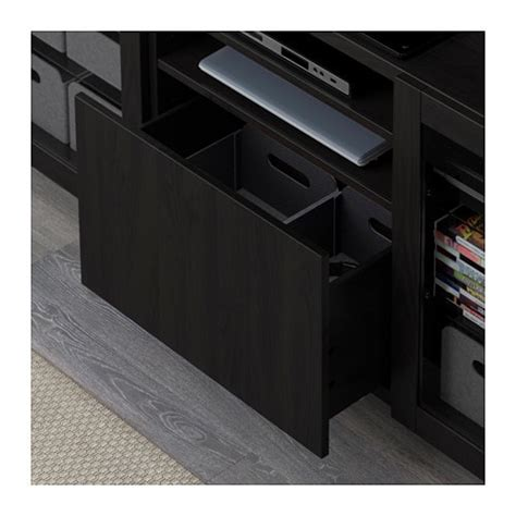 clear storage drawers ikea best 197 bench with drawers lappviken sindvik black brown