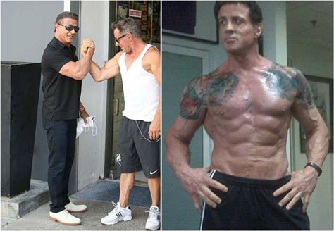 stallone measurements sylvester stallone s height weight numerous sacrifices