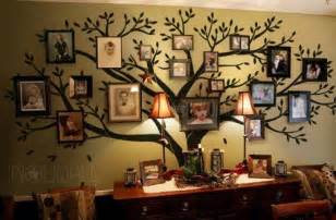 Family Tree Stickers For Walls Photo Frame Wall Decal Family Tree Wall Decals Wall