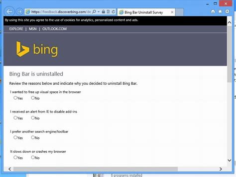 remove bing toolbar from firefox remove bing toolbar