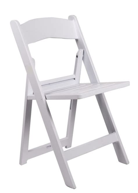 white resin folding chair the chiavari chair company