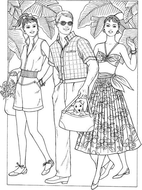 fashion coloring pages  getcoloringscom