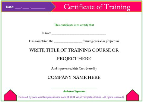 certification of records template professional certificate templates about ms